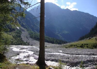 Flusslandschaft nach Muhrgang