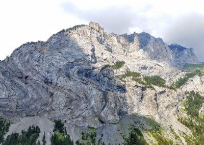 Die Kräfte der Natur formen die Felsen